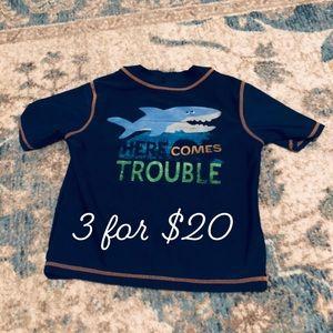 Carter's swim shirt 24M 3 for $20